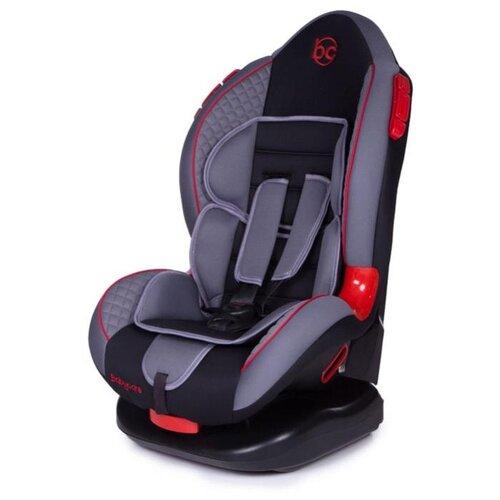 Автокресло группа 1/2 (9-25 кг) Baby Care Polaris, grey/black автокресло группа 1 2 3 9 36 кг little car ally с перфорацией черный