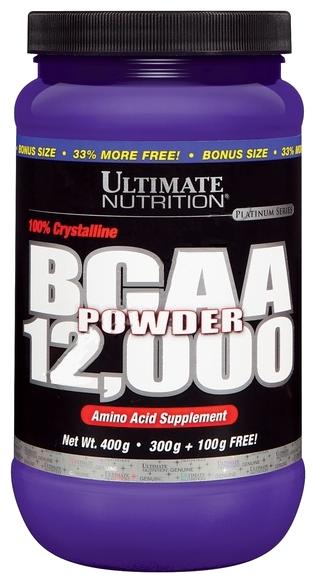 BCAA Ultimate Nutrition BCAA Powder 12000 (400 г) — цены на Яндекс.Маркете