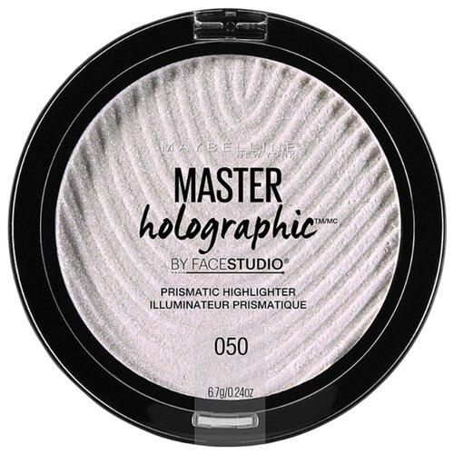 Maybelline New York By Face Studio Хайлайтер Master Holographic Prismatic 050, опал maybelline master holographic