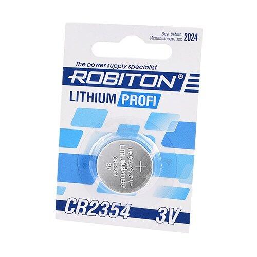 Фото - Батарейка ROBITON Lithium Profi CR2354 1 шт блистер элемент питания robiton profi 2cr5 блистер 1шт