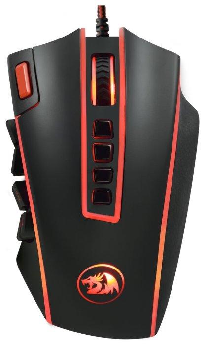 Мышь Redragon Legend Black-Red USB