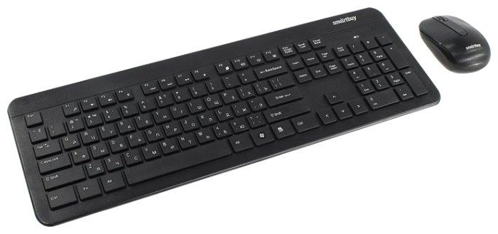 SmartBuy Клавиатура и мышь SmartBuy SBC-214350AG-K Black USB
