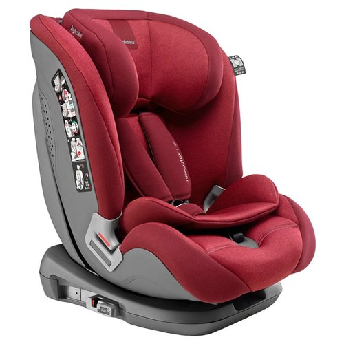 Автокресло группа 1/2/3 (9-36 кг) Inglesina Newton I-Fix, red inglesina автокресло inglesina newton 1 2 3 i fix grey