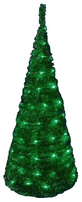 SNOWHOUSE Ель искусственная зеленая из мишуры 1.2