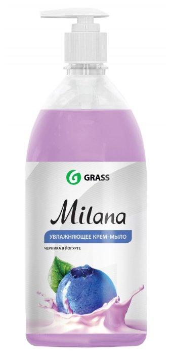 Крем-мыло жидкое Grass Milana черника в йогурте