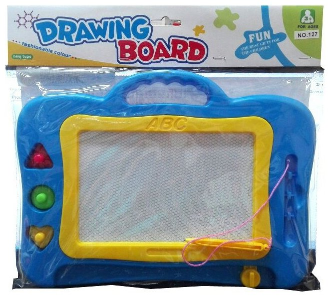 Доска для рисования детская MAYA TOYS со штампами (MY115132/MY115131)