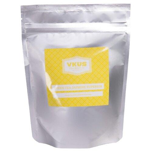Чай зеленый VKUS Jasmine superior organic, 140 гЧай<br>