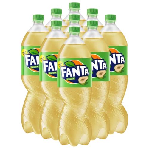 Газированный напиток Fanta Груша, 1.5 л, 9 шт.