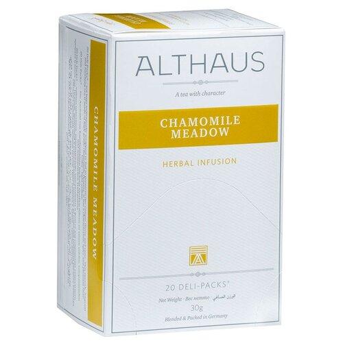 Чай травяной Althaus Chamomile Meadow в пакетиках, 20 шт.Чай<br>