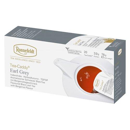 Чай черный Ronnefeldt Earl Grey в пакетиках для чайника, 20 шт.Чай<br>