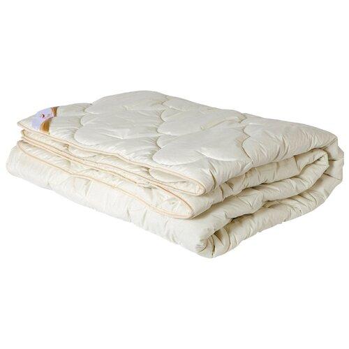 Одеяло OLTEX Меринос всесезонное, 172 х 205 см (сливочный) одеяло relax wool всесезонное цвет светло бежевый 140 х 205 см