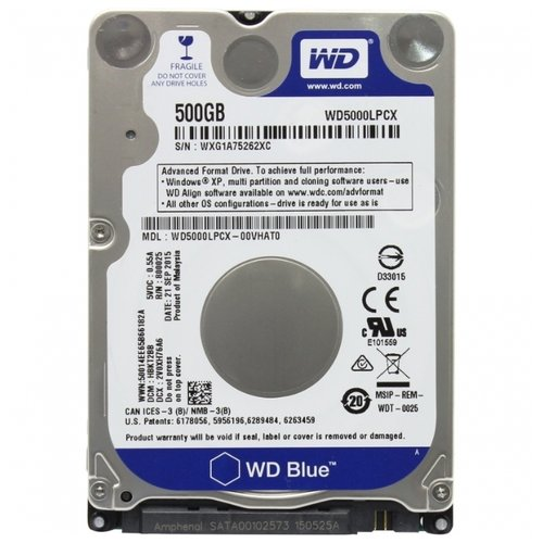 Жесткий диск Western Digital WD5000LPCX