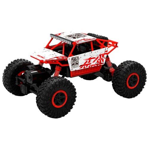Купить Багги 1 TOY Драйв (Т10956) 1:18 32 см красный/белый, Радиоуправляемые игрушки