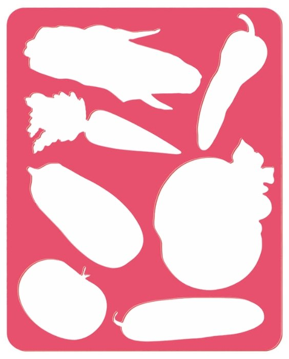Трафарет СТАММ Овощи (ТТ96)
