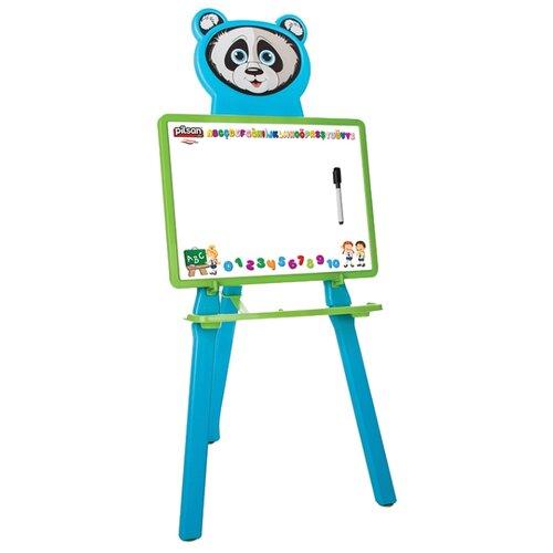 Купить Доска для рисования детская pilsan Panda (03-418) голубой, Доски и мольберты