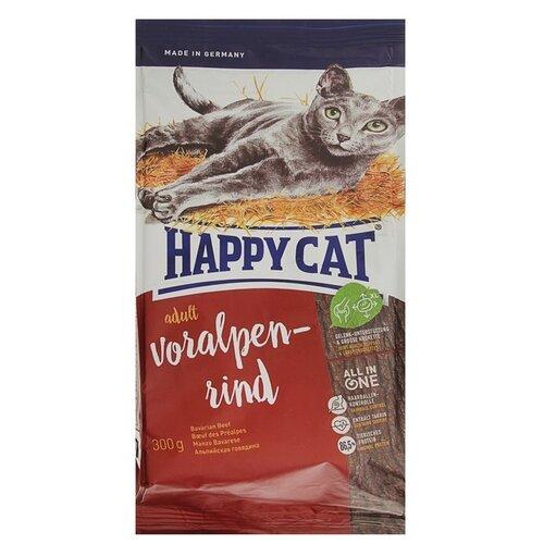 Корм для кошек Happy Cat Supreme Voralpen Rind (0.3 кг)Корма для кошек<br>