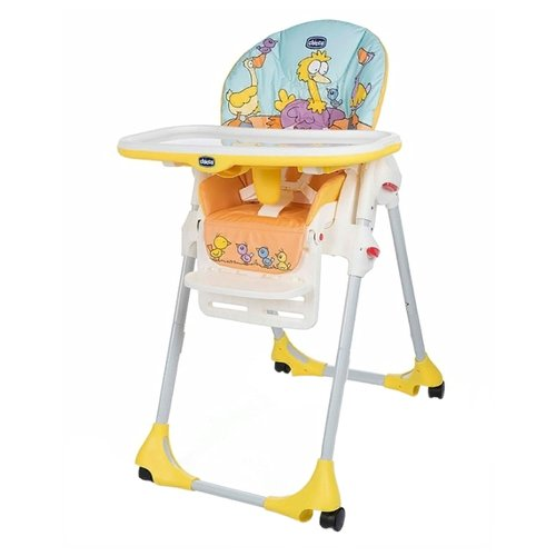 Стульчик для кормления Chicco Polly 2-in-1 Easy (4 колеса) birdland стульчик для кормления ivolia hope 01 2 колеса orange