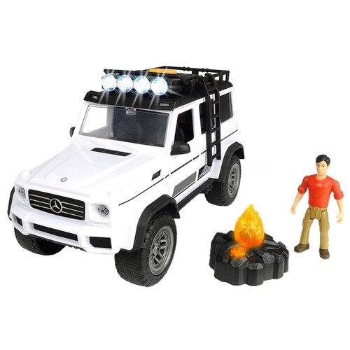 Внедорожник Dickie Toys Playlife Adventure Set (3835002) 1:24 23 см белый dickie toys сигнал регулировщика со светом 25 см dickie toys