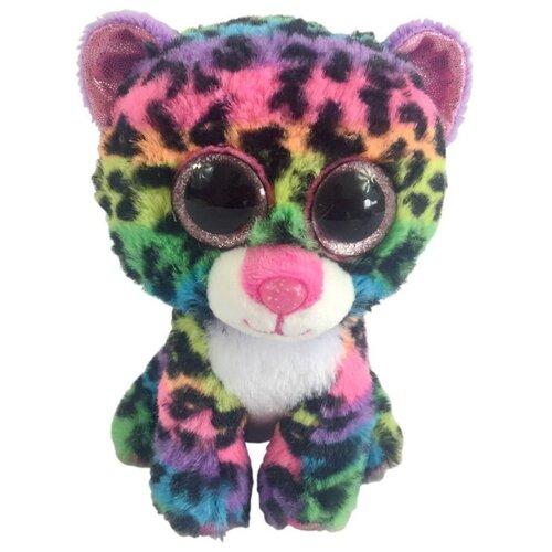 Купить Мягкая игрушка Chuzhou Greenery Toys Леопард мультиколор 15 см, Мягкие игрушки