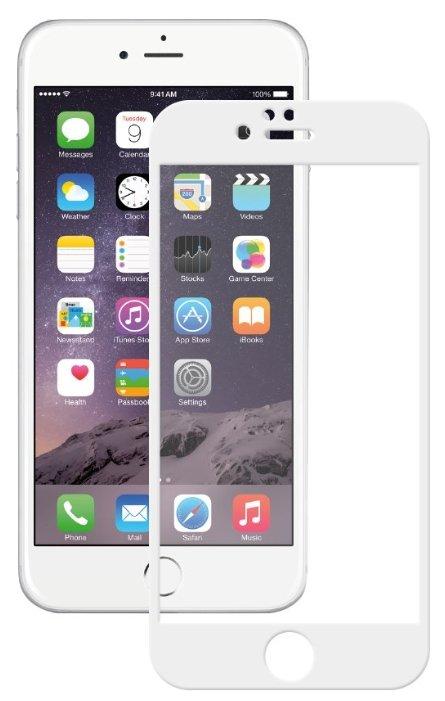 Защитное стекло Deppa GLASS 61998/61999 для Apple iPhone 6 Plus/6S Plus