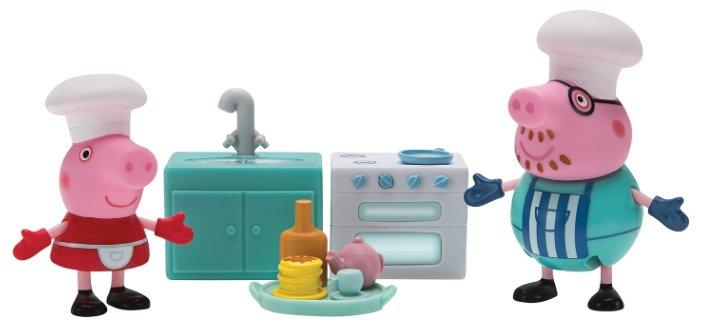 Игровой набор Пеппа и Папа пекут блинчики, «Свинка Пеппа»