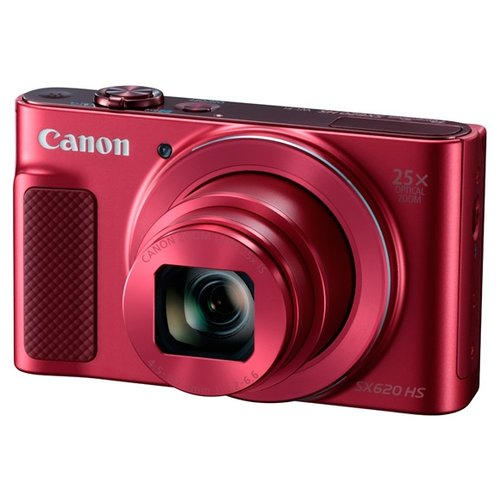Купить Фотоаппарат Canon PowerShot SX620 HS красный