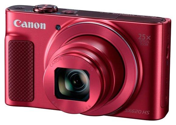 Фотоаппарат Canon PowerShot SX620 HS красный