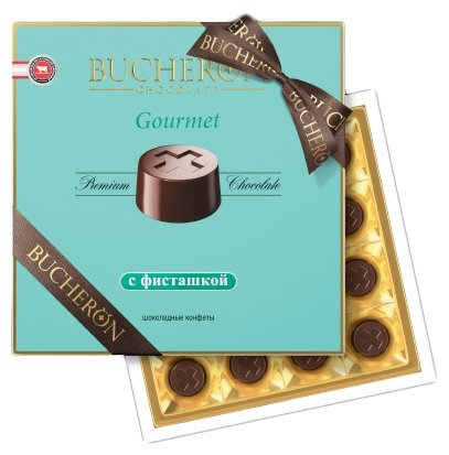 Набор конфет Bucheron Gourmet с фисташкой 180 г