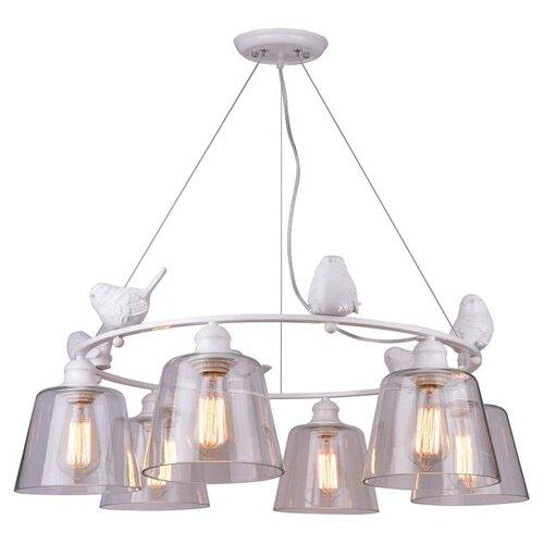 Люстра Arte Lamp Passero A4289LM-6WH, E27, 240 Вт люстра arte lamp camomilla a6049pl 6wh e27 240 вт