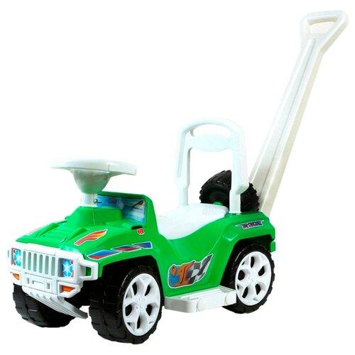 Купить Каталка-толокар RT Race Mini Formula 1 ОР856 (5307 / 5308) со звуковыми эффектами зеленый, Каталки и качалки