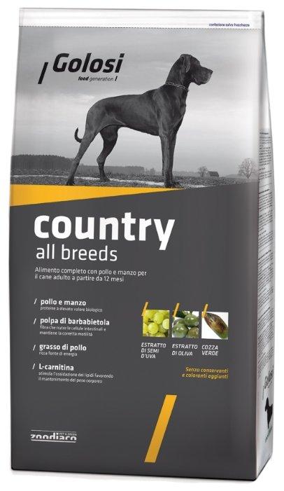 Корм для собак Golosi Country All Breeds
