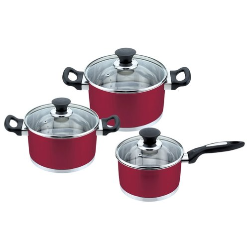 Набор посуды Mallony PKS6-01W (981049) 6 пр.Наборы посуды для готовки<br>