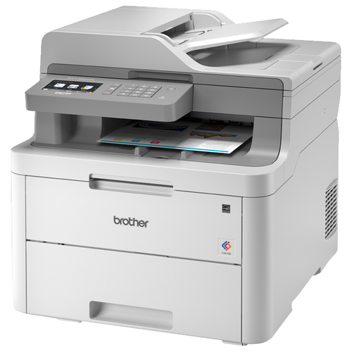Фото - МФУ Brother DCP-L3550CDW белый/серый мфу brother dcp t710w ink benefit plus