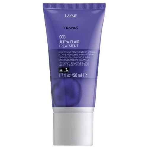 Lakme Teknia Ultra Clair Средство тонирующее для обесцвеченных, натуральных светлых и седых волос, 50 мл недорого