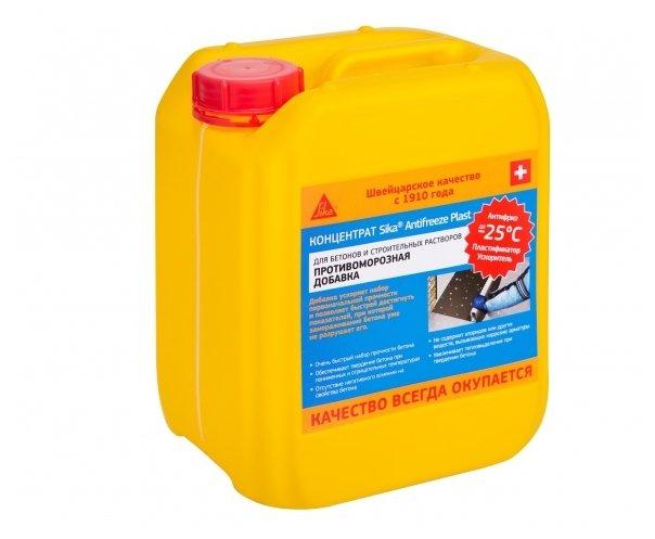 Добавка пластификатор Sika Antifreeze Plast 5 л