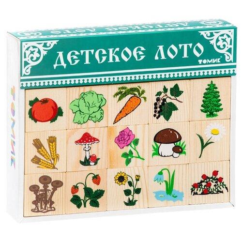 Настольная игра Томик Лото Растительный мир настольная игра феникс лото животный мир 43055