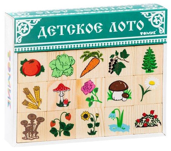 Настольная игра Томик Лото Растительный мир