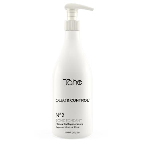 Tahe Oleo & Control №2. Регенерирующая маска для питания и разглаживания волос, 500 мл