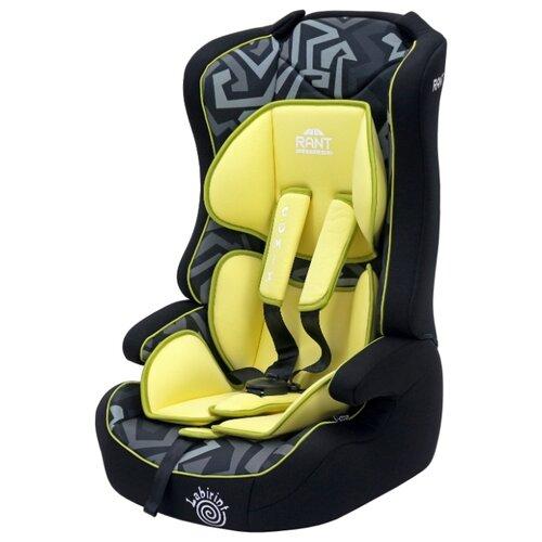 Автокресло группа 1/2/3 (9-36 кг) RANT Comix, labirint yellow