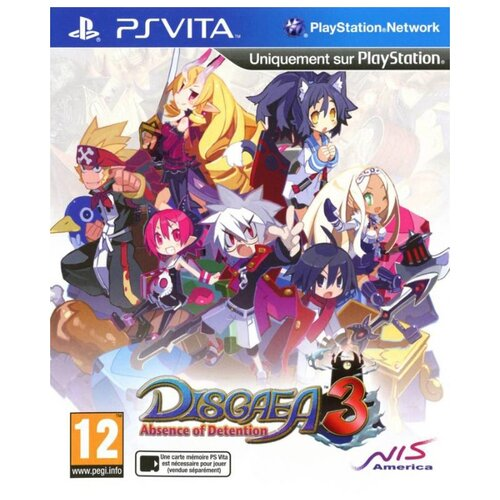 Игра для PlayStation Vita Disgaea 3: Absence of Justice