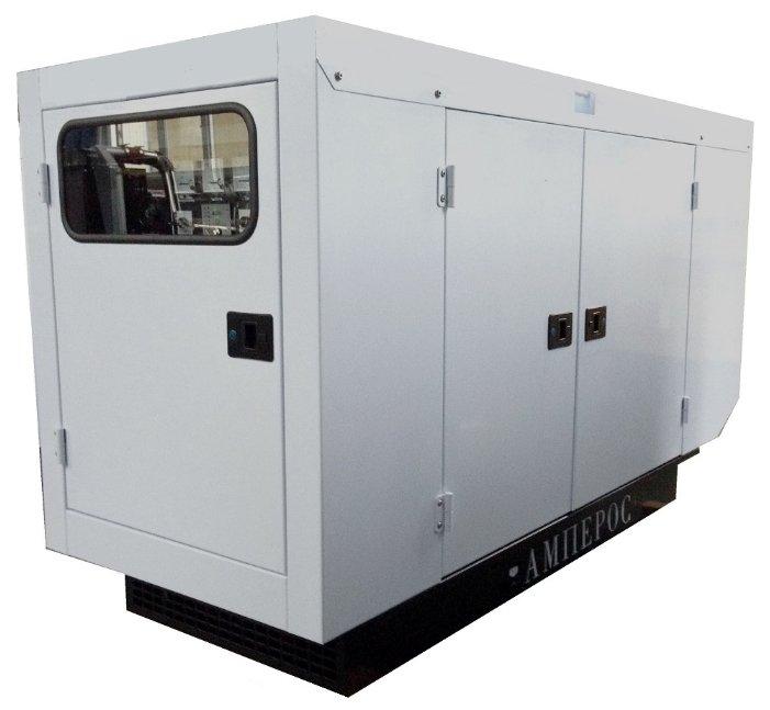 Дизельная электростанция Амперос АД 30-Т230 P (Проф) в кожухе