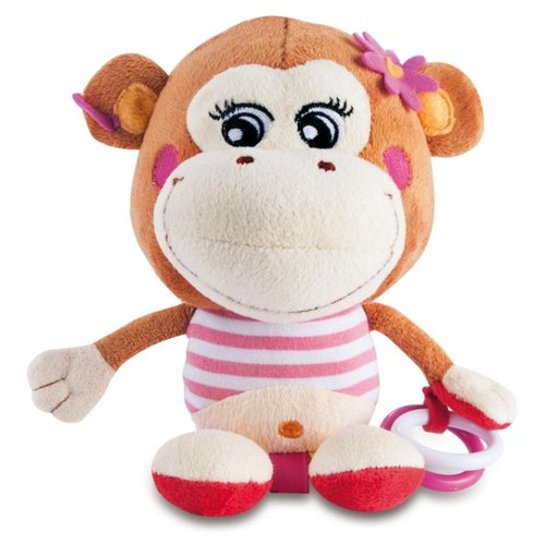 Купить Подвесная игрушка Canpol Babies Пираты (68/035) Обезьянка бежевый/коричневый, Подвески
