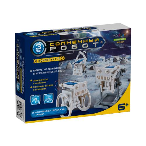 Купить Электромеханический конструктор ND Play На солнечной энергии 273956 Солнечный робот 3 в 1, Конструкторы