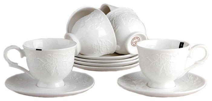 Набор кофейный Коралл LNZ-C0210, Керамика