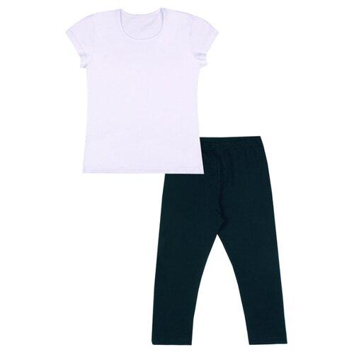 Спортивный костюм Апрель размер 116-60, белый/темно-синий