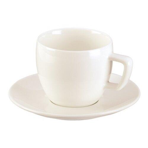 Tescoma Чашка для эспрессо Crema с блюдцем remember чашка для эспрессо с блюдцем black stripes