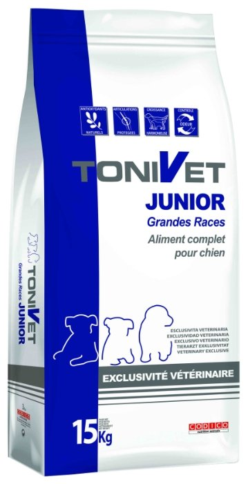 Корм для собак Bab'in Tonivet Junior Grandes Races