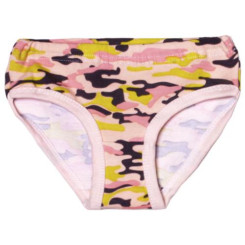 Купить Трусики KotMarKot размер 104, розовый милитари, Белье и купальники