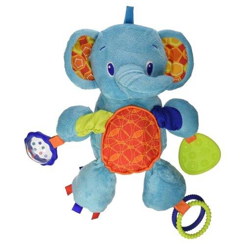 Купить Подвесная игрушка Bright Starts Слонёнок (8814-2) голубой, Подвески
