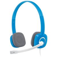 Компьютерная гарнитура Logitech Stereo Headset H150 голубой